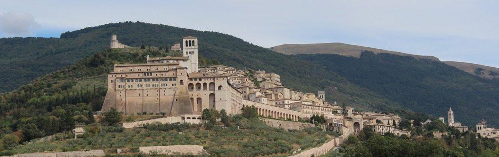 umbria, assisi, basilica